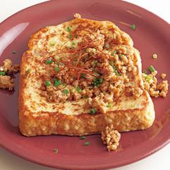 担々麺風フレンチトースト