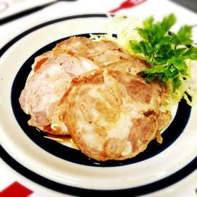レンジで簡単*小間切れ肉でチャーシュー