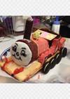 機関車トーマス★ジェームスの立体ケーキ