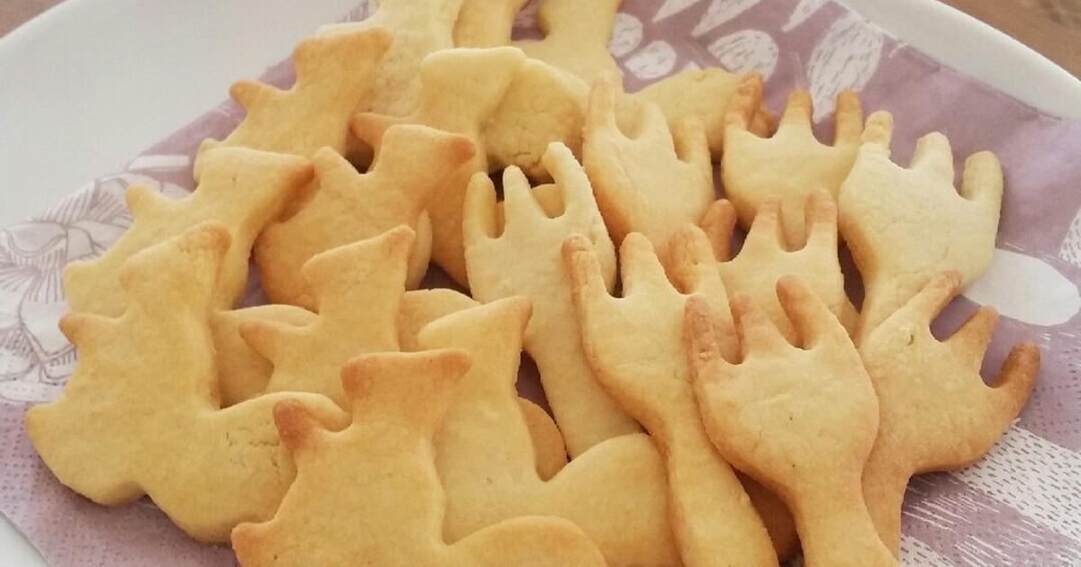 簡単!材料4つの型抜きクッキー by jakkysweet