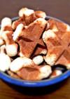 ワッフルメーカーで作る楽々クッキー