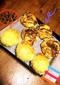 ホットケーキミックスで♡簡単おかずパン