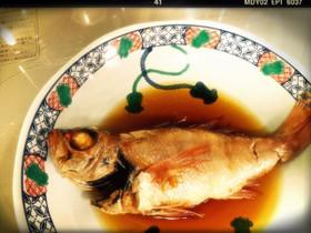 【簡単】大目鯛(\u003d赤むつ,のどぐろ)煮付