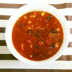 簡単★豆を使ったヘルシーなトマトカレー