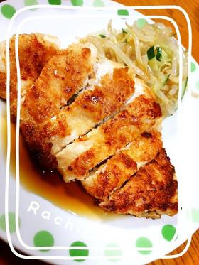 鶏胸肉で油淋鶏風♡