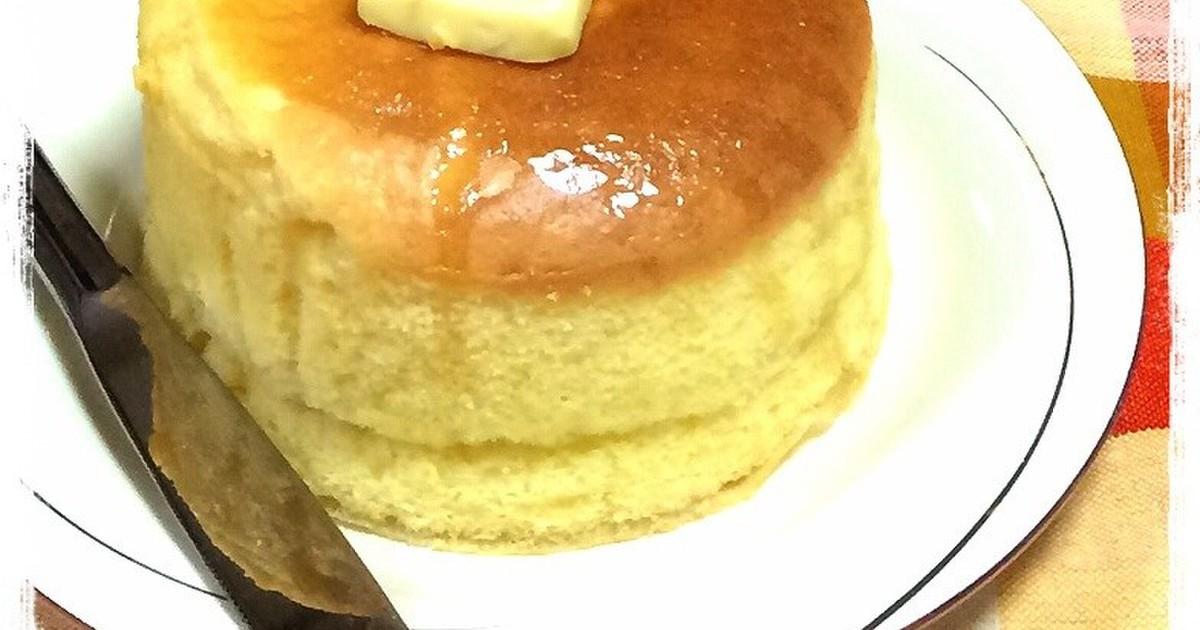 HMで簡単♡スフレパンケーキ by くりみゅ