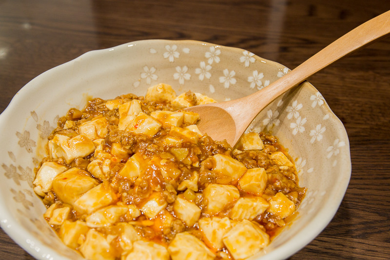 ピリッと美味しい麻婆豆腐