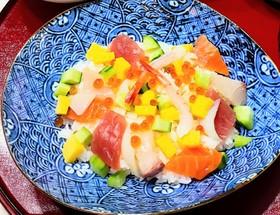 ひな祭りにも☆海鮮ちらし寿司