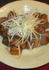 豚バラ肉の照り煮(五花肉焼)