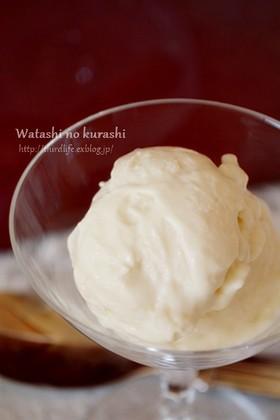 ココナッツオイルと豆腐のアイスクリーム