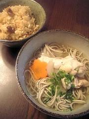 ♪温かいお蕎麦~鶏ダシ♪の写真