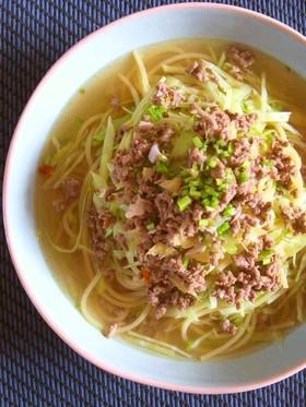 キャベツなスパゲティー*檸檬醤油スープ編