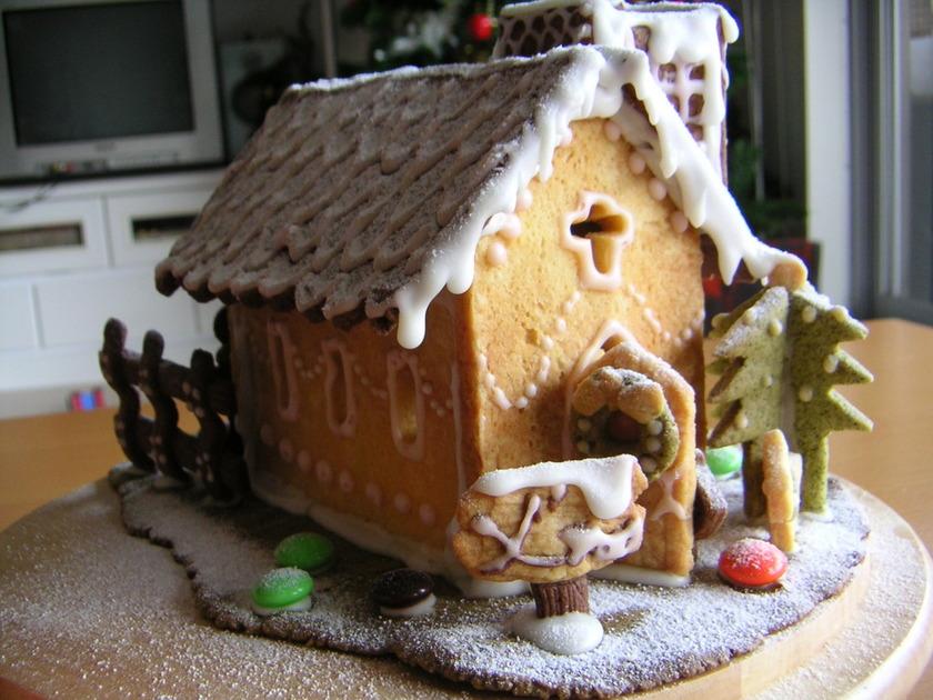 クリスマス☆クッキーハウス