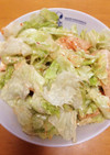レタスのキムチサラダ