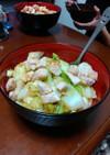 簡単鶏胸肉のスタミナ塩ダレ丼ぶり♡