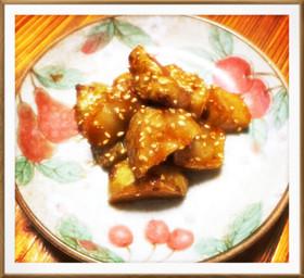 糖質制限★おやつにおかずに菊芋の大学芋
