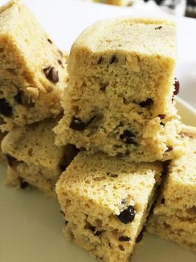 レンジで簡単ダイエットおから蒸しパン