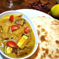 南インドの本格ココナッツカレー