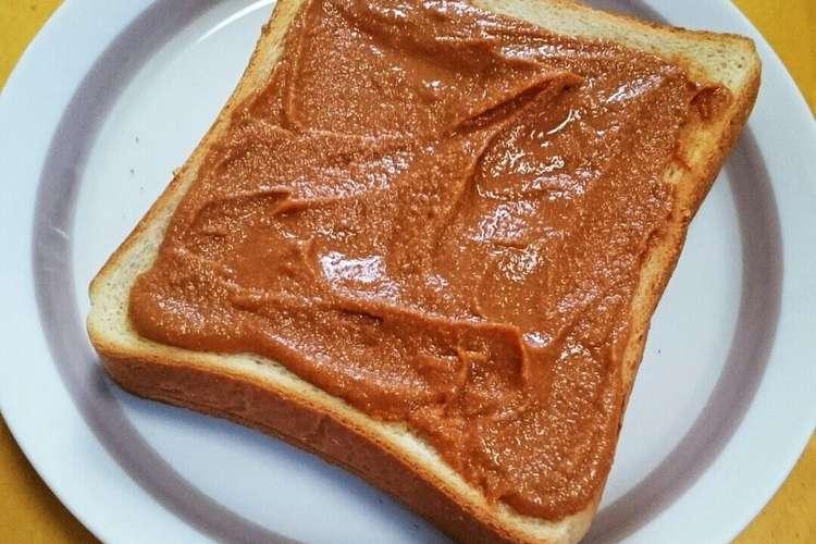 トースト きな粉 きな粉黒蜜トースト レシピ・作り方