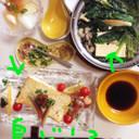 沖縄物産展の島豆腐☆オリーブオイル焼き