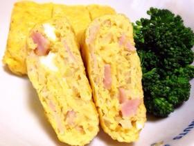 ✽ベーコンと玉ねぎの卵焼き✽