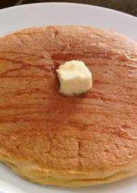 HMで簡単ふわふわ♪卵白でパンケーキ