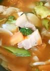 ミネストローネ風簡単ランチスープ。