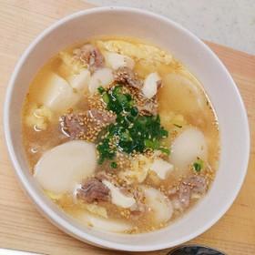 韓国餅/豚肉のトックスープ by ⋈...