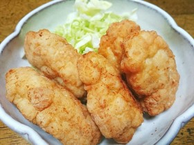 鶏むね肉de簡単♪チキンナゲット