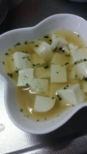 豆腐の味噌汁(離乳食 中期~)