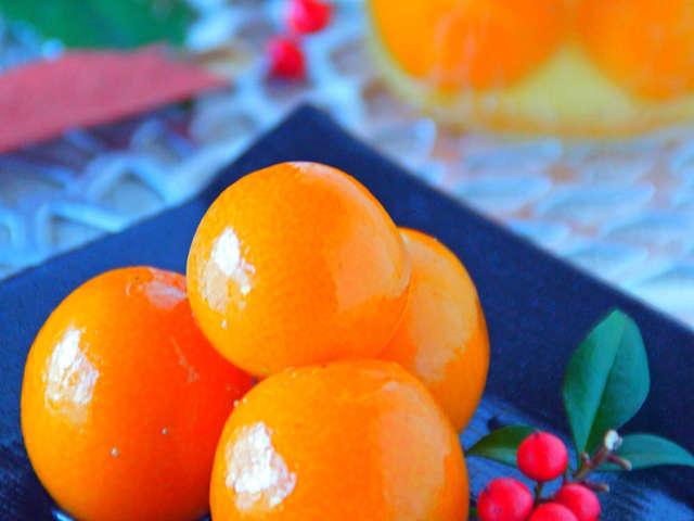 金柑 の 甘露煮 の 作り方