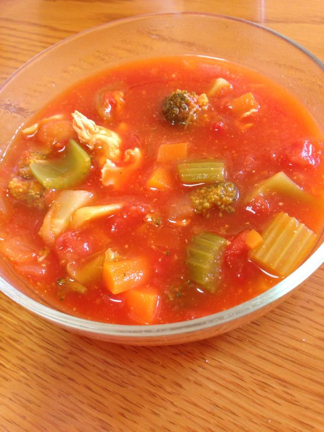 簡単!具沢山のダイエット燃焼スープ!