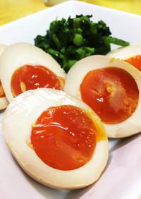 ラーメン屋さんの☆とろり黄身の煮卵(味玉