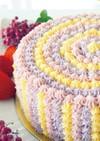 カラフルデコレーションケーキ『フルール』