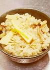 簡単桜茶香る筍とキノコチキン炊き込みご飯