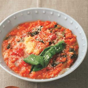 トマト雑炊