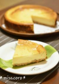 m生クリームなし濃厚ベイクドチーズケーキ