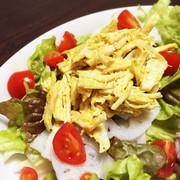 鶏胸肉のカレーマヨサラダ♡の写真