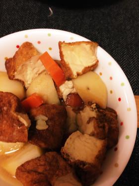 簡単☆厚揚げとジャガイモの煮物