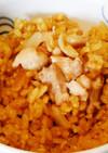 チキンカレー玄米ピラフ