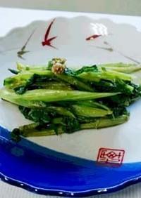 春の山菜:ふきのとうの茎炒め