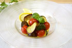 夏野菜のバジル風味サラダ♪