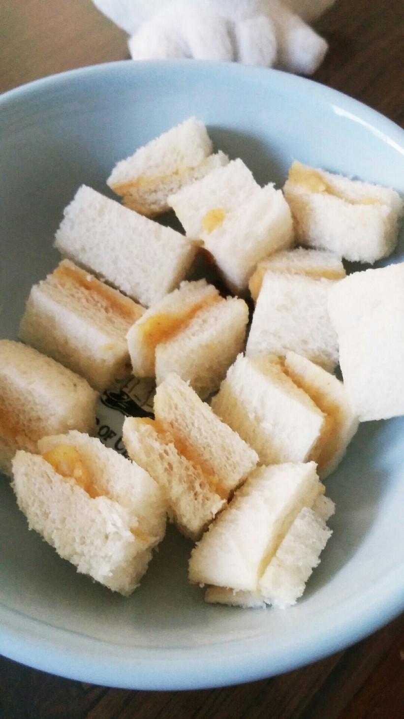 離乳食~後期 さつま芋あんのサンドイッチ