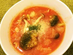 離乳食取分け★野菜スープとミネストローネ