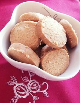 ココナッツオイルで☆きなこクッキー