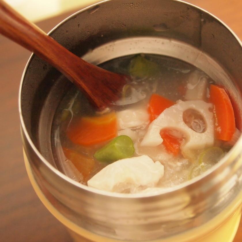 冷え性対策!ヘルシースープ弁当