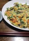 ヘルシー☆シーフードとニラの豆腐チヂミ