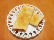 アーモンドバタートーストの写真