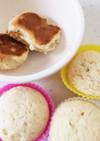 ホワイトソルガム 蒸しパン、パンケーキ