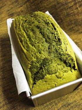 HM☆抹茶のパウンドケーキ☆ブランデー入